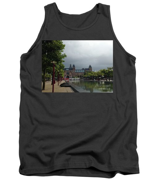 Tank Top featuring the photograph I Amsterdam by Therese Alcorn
