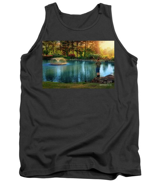 I Could Be Fishing Tank Top