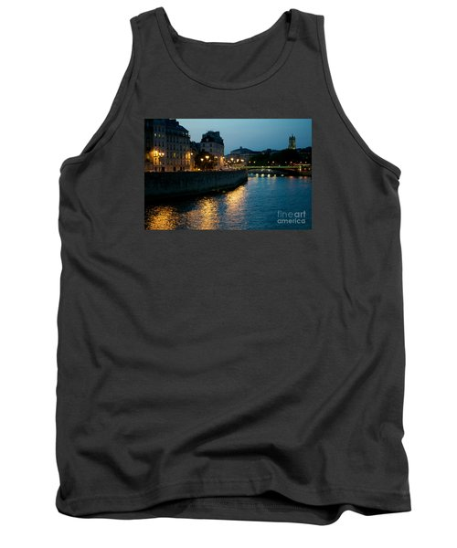 Tank Top featuring the photograph I Love Paris by Sandy Molinaro