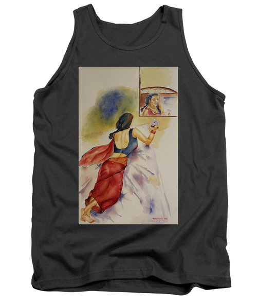 I Miss You Tank Top by Geeta Biswas