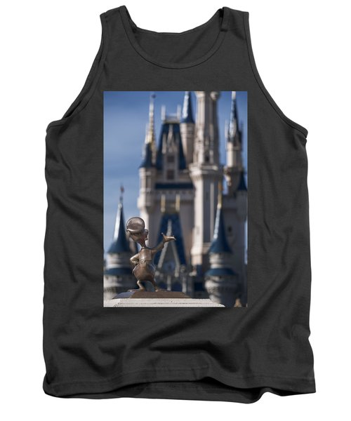 I Present You Cinderella's Castle Tank Top