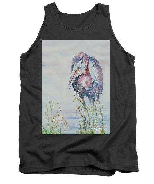 Tank Top featuring the painting I See Lunch by Mary Haley-Rocks