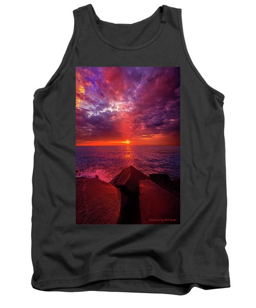 Tank Top featuring the photograph I Still Believe In What Could Be by Phil Koch