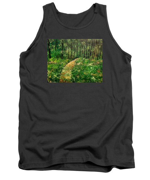 I Think It's Time For Our Walk Tank Top by Lisa Aerts