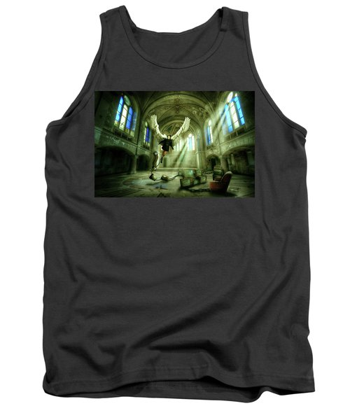 Tank Top featuring the digital art I Want To Brake Free by Nathan Wright