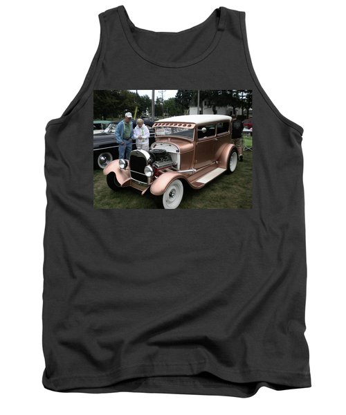 I Wish Your Engine Ran As Good As His Tank Top