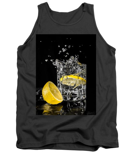 Tank Top featuring the photograph Ice And A Slice by Nick Bywater