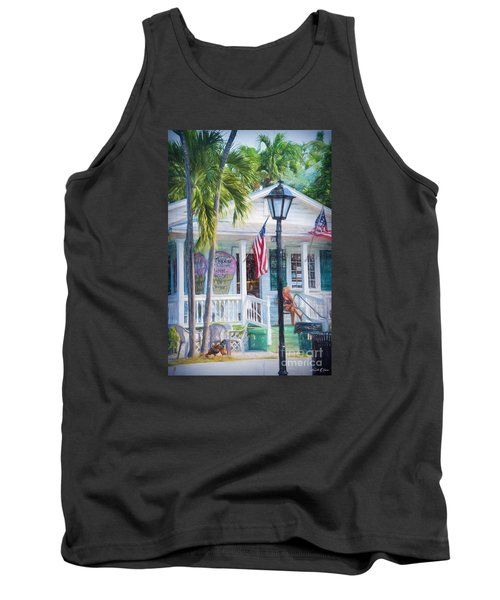 Ice Cream In Key West Tank Top
