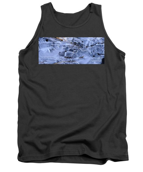 Ice Crystal Art Tank Top by Michele Penner