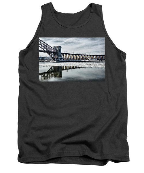 Ice Flows Under The Hellgate Tank Top