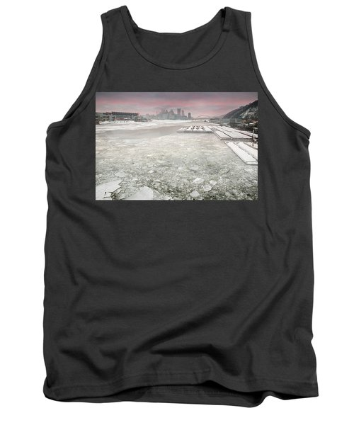 Frozen Allegheny River  Tank Top
