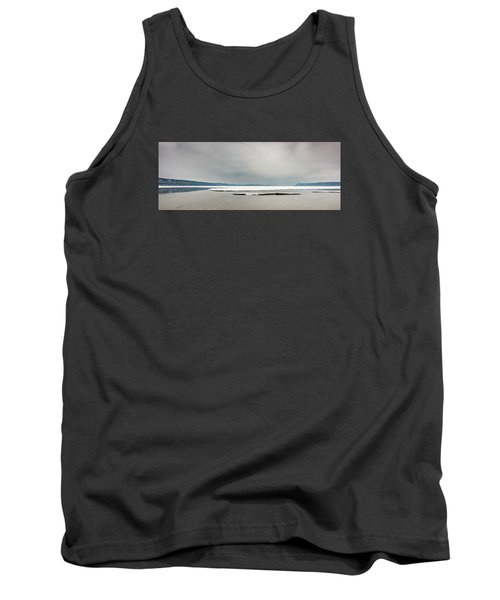 Tank Top featuring the photograph Ice Sheet by Dan Traun