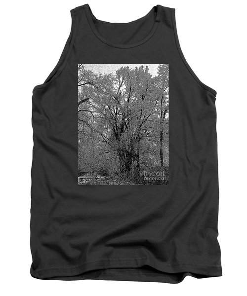 Iced Tree Tank Top by Craig Walters
