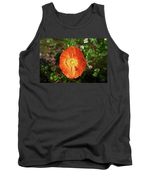 Iceland Poppy Tank Top by Sally Weigand