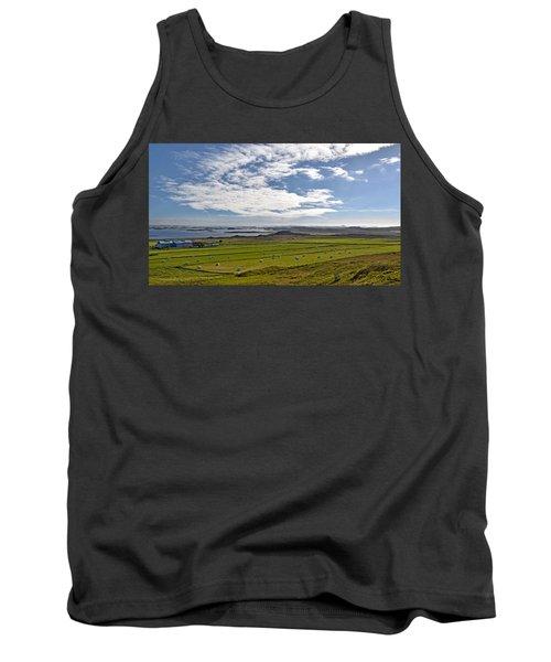 Tank Top featuring the photograph Icelandic Panorama by Joe Bonita