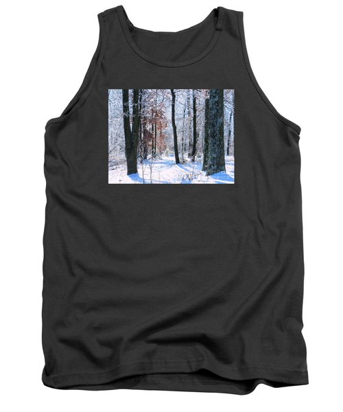 Icey Forest 1 Tank Top by Craig Walters
