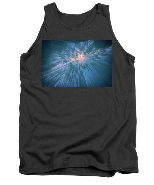 Tank Top featuring the photograph Icicles by Rick Berk