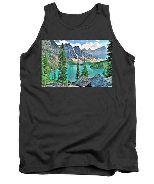 Iconic Banff National Park Attraction Tank Top