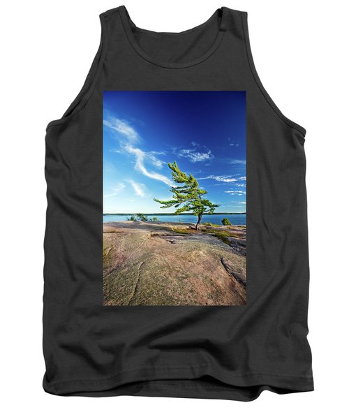 Iconic Windswept Pine Tank Top