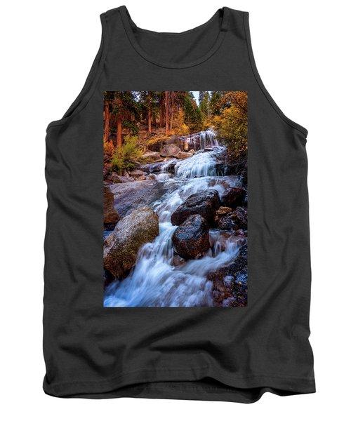 Icy Cascade Waterfalls Tank Top
