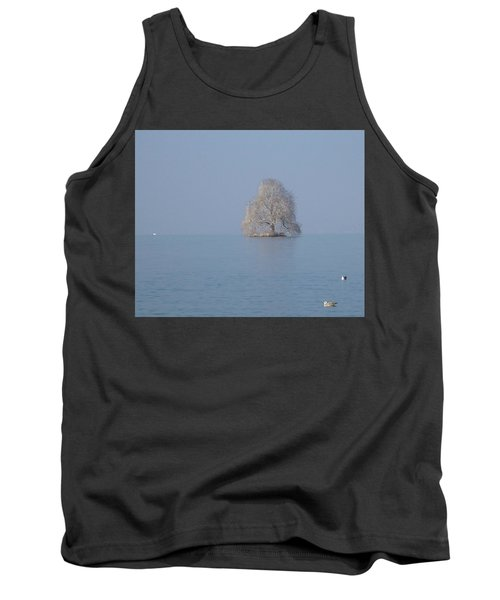 Tank Top featuring the photograph Icy Isolation by Christin Brodie