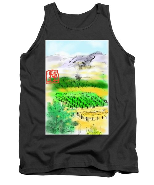 Idaho Vineyard Tank Top