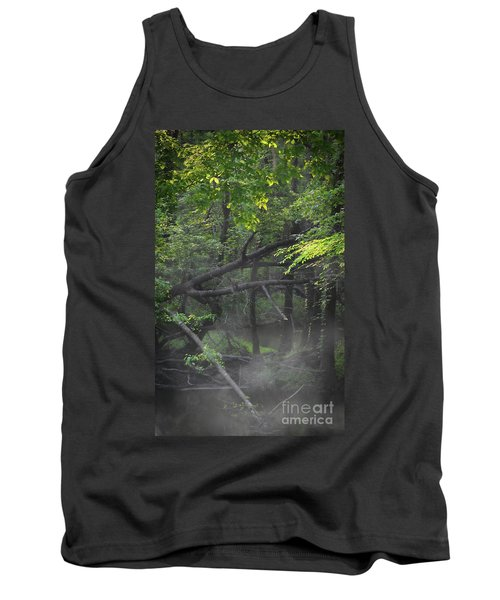 Tank Top featuring the photograph If A Tree Falls In The Woods by Skip Willits