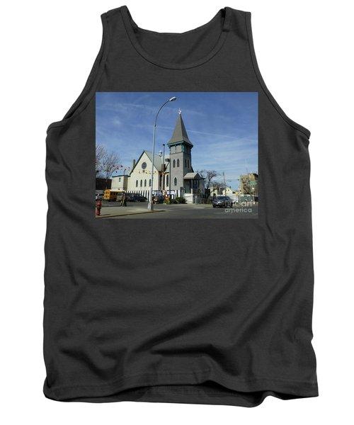 Iglesia Metodista Unida Church Tank Top