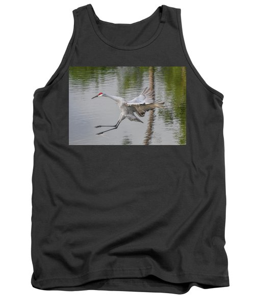 Ike The Crane's Grouchy Day Tank Top