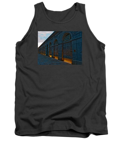 Illuminated Arches Tank Top by Helen Northcott