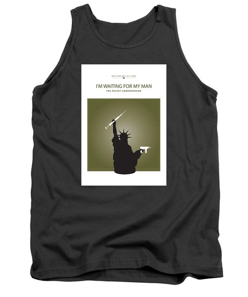 I'm Waiting For My Man -- The Velvet Underground Tank Top by David Davies