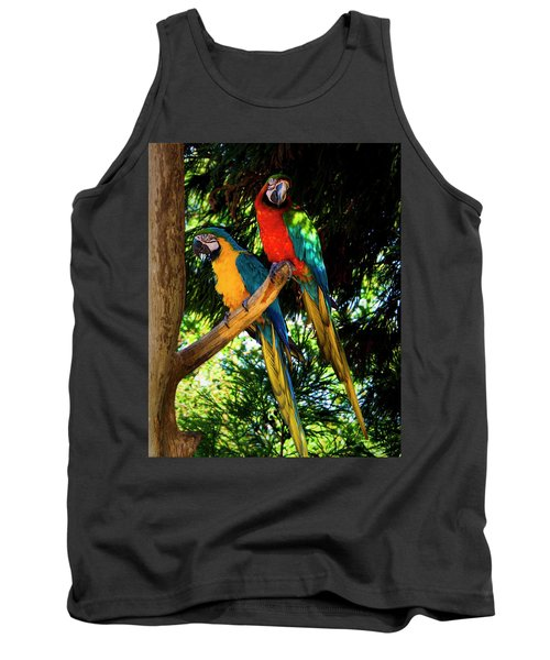 Image Of The Parrott Tank Top