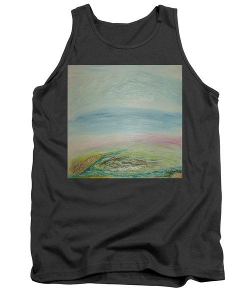 Imagination 7. Landscape. Three Dimensions. View From The Sky. Tank Top
