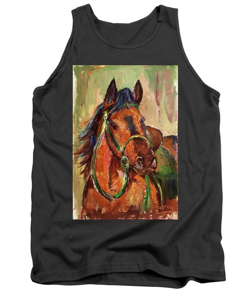 Impressionist Horse Tank Top
