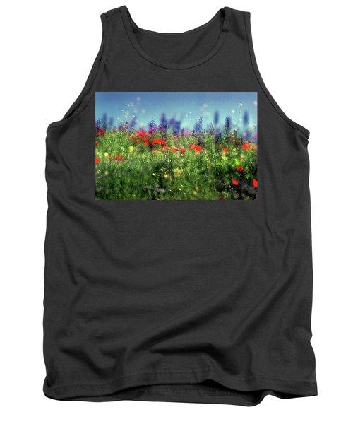 Impressionistic Springtime Tank Top