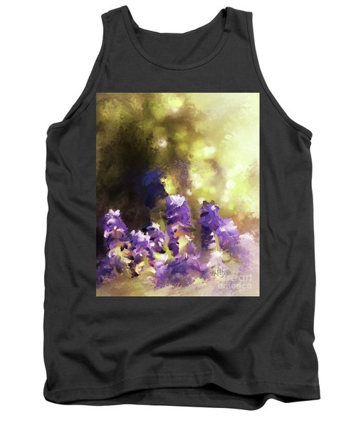 Impressions Of Muscari Tank Top by Lois Bryan