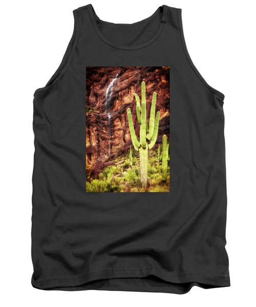 In A Dry And Thirsty Land Tank Top by Rick Furmanek