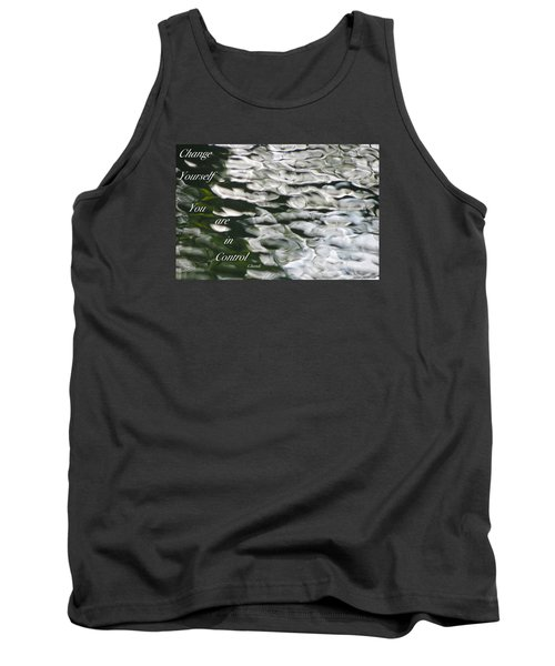 Tank Top featuring the photograph In Control by David Norman