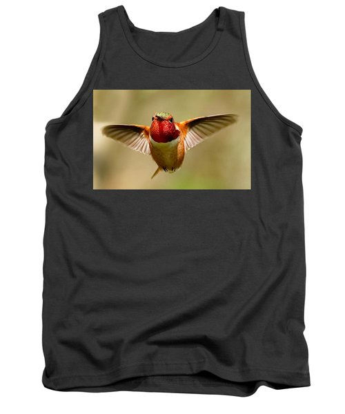 In Flight Tank Top by Sheldon Bilsker