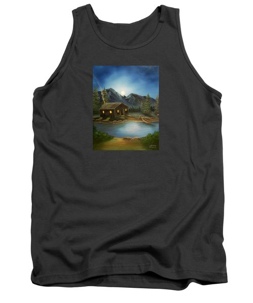 In For The Night Tank Top by Sheri Keith