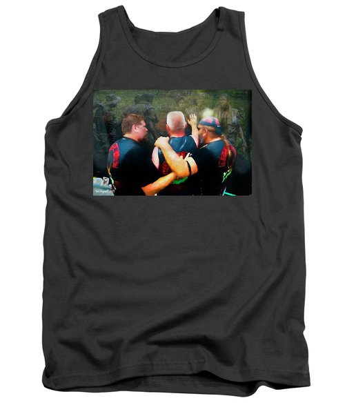 In Honour Of Those Who Serve Tank Top