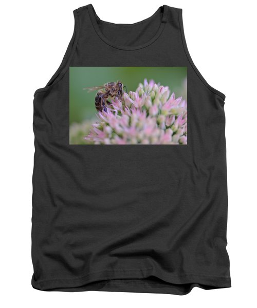 In Search Of Nectar Tank Top by Janet Rockburn