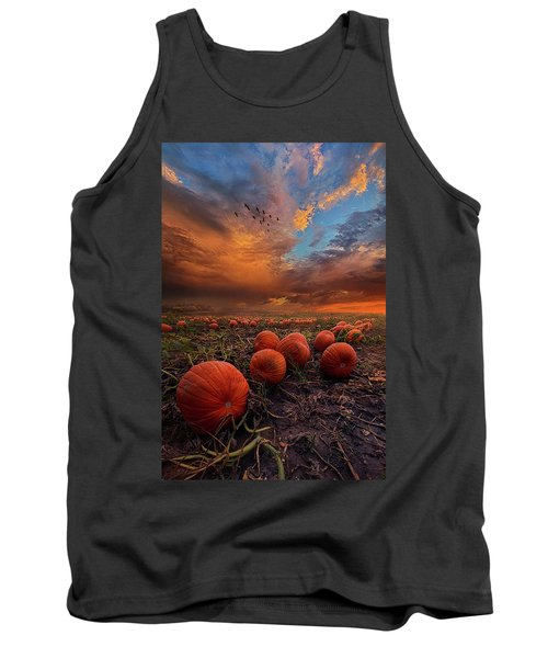 In Search Of The Great Pumpkin Tank Top by Phil Koch