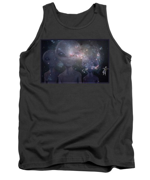 In Space Tank Top by Thomas M Pikolin