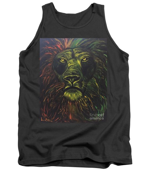 Tank Top featuring the painting In The Dark by Brindha Naveen