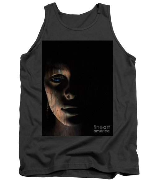 Tank Top featuring the photograph In The Dark by Trena Mara
