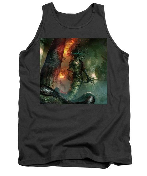 In The Lair Of The Gorgon Tank Top