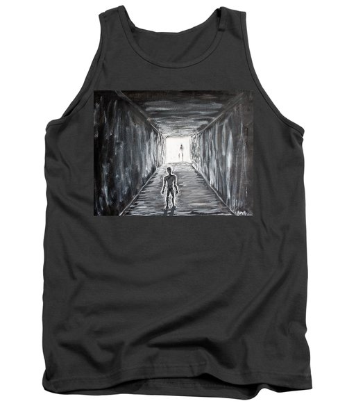 Tank Top featuring the painting In The Light Of The Living by Antonio Romero