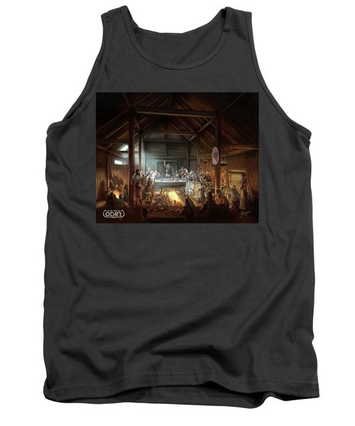 In The Name Of Odin Cover Art Tank Top