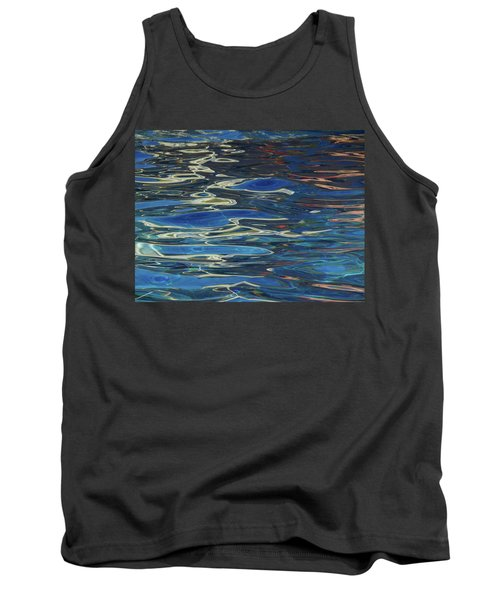 In The Pool Tank Top by Evelyn Tambour